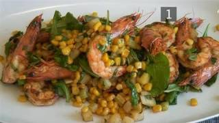 How To Create Spicy Corn And Shrimp Salad At Home