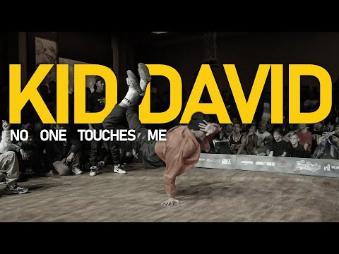 "Bboy KidDavid ""NO ONE TOUCHES ME"" 