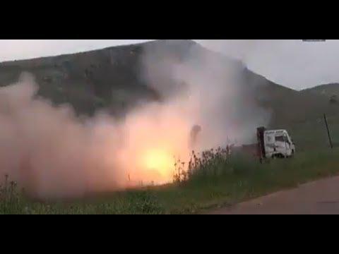 Russia and Syria Launch Massive Strike Against Terrorist in Idlib