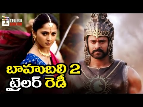 Thumbnail: Baahubali 2 Official Trailer on Prabhas Birthday | Anushka | Rana | SS Rajamouli | Telugu Cinema