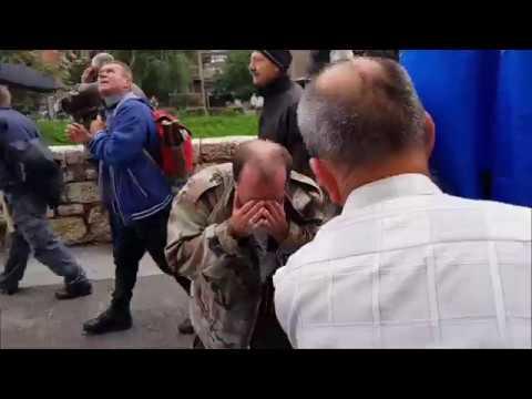 Protesti demobilisanih boraca, Sarajevo 5 Septembar 2018