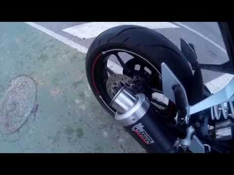 Ktm Duke 125 Mivv Gp Exhaust Sound (No Db-Killer)