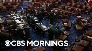 Republicans block Senate bill to fund government and suspend debt ceiling