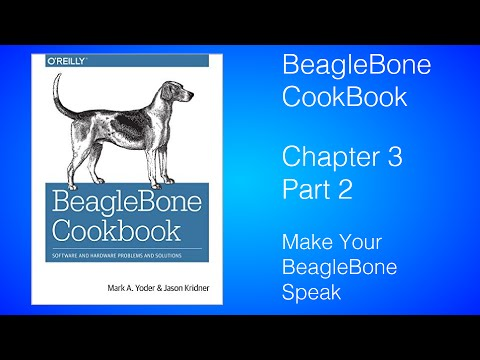 Make Your BeagleBone Speak- BeagleBone Cookbook Lesson 3.9