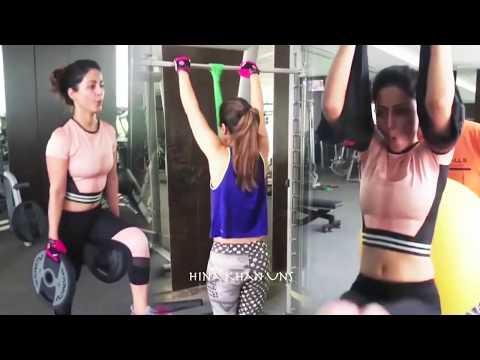 Hina Khan Hot Workout Before Entering Bigg Boss 11 thumbnail