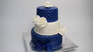 Торт на свадьбу из мастики