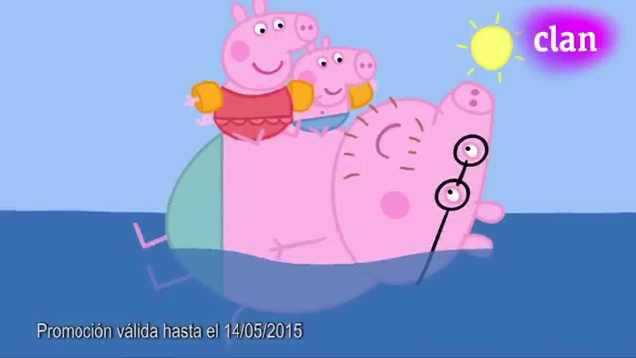 Autopromo Peppa Pig en Clan TV  YouTube