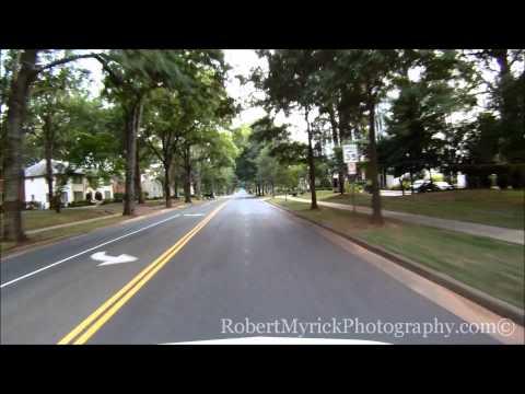 Driving Selwyn Ave. Charlotte, N.C.