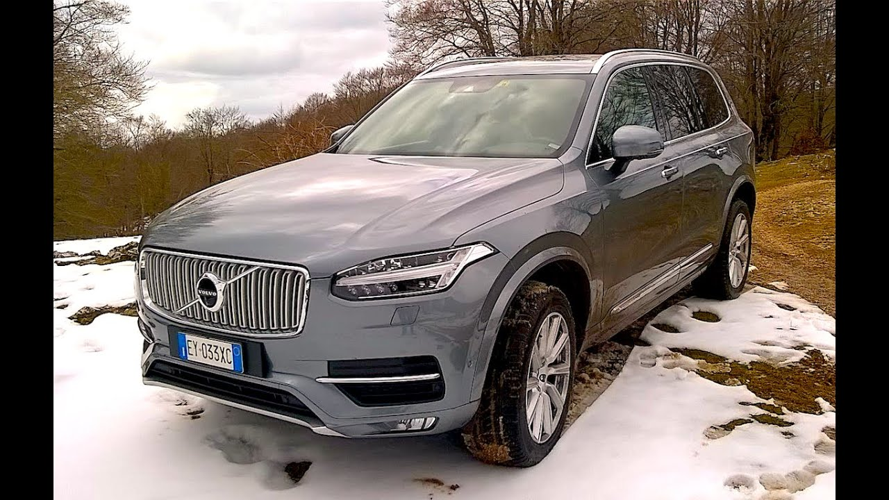 New Volvo Xc90 D5 4wd Inscription 2016 First Snow Test Drive Only
