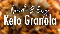 Quick & Easy Keto Granola Recipe
