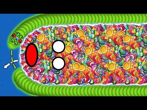 WORMSZONE.IO 001 BEST PRO SLITHER SNAKE TOP 01 / Epic Worms Zone Best Gameplay! #43