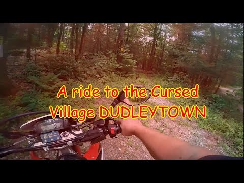 A ride to Cursed/ Haunted Dudleytown, CT 4th of July weekend 2016