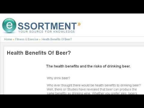 What Are The Health Benefits Of Beer And Wine?