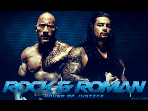 [WWE] 《The Rock and Roman Reigns》 -|Cousins|