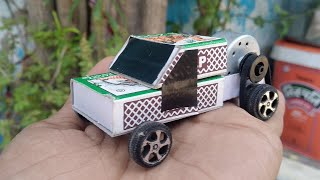 How to make a matchbox jeep car | how to make a car | how to make paper car