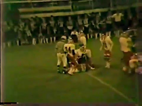 1986 Stilwell Indians at Sallisaw Black Diamonds Football