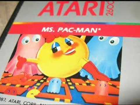 Classic Game Room - MS. PAC MAN For Atari 2600 Review