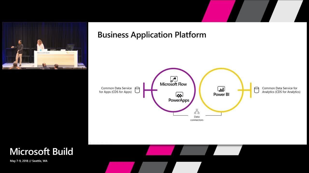 Build and extend applications for Office 365 with PowerApps and Flow :  Build 2018