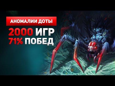 видео: Бруда 2000 Игр, 71% Побед - Аномалии Доты