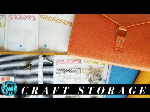Cute & Portable Craft Storage Binders, Books, and Bags!