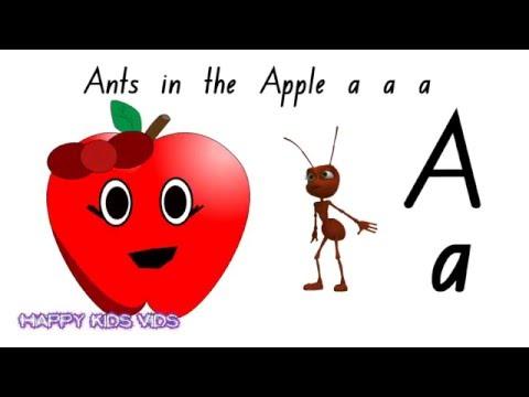 Ants in the Apple Alphabet Phonics song (Australian Version)