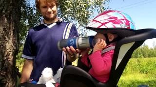 В финляндии на велосипеде с ребенком(видео для tourlog.info музыка