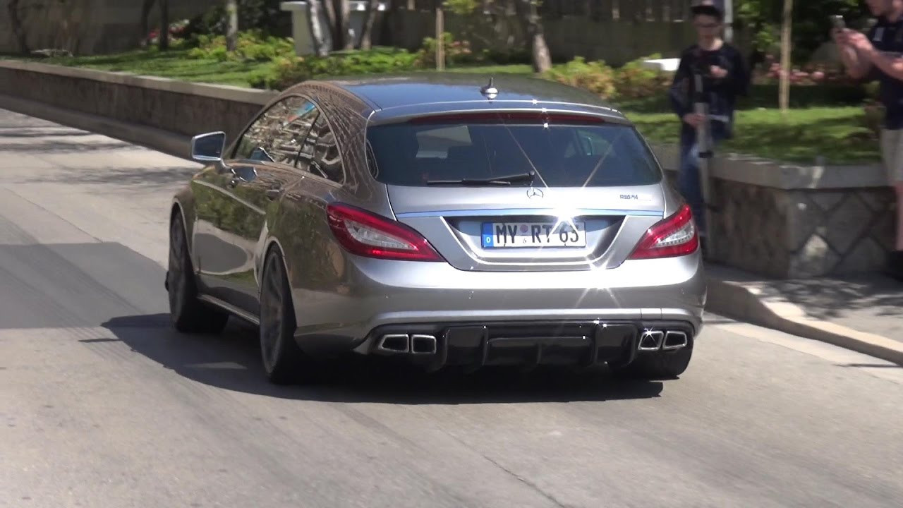740HP RENNtech Mercedes CLS63 AMG Shooting Brake - REVS & LAUNCH CONTROLS!