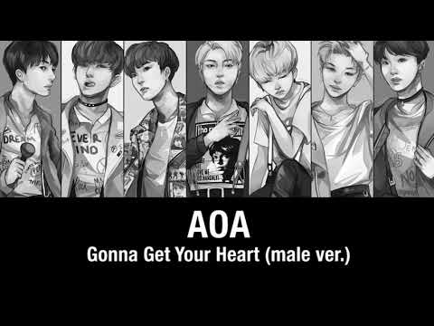 【AOA】Gonna get your heart (male version)