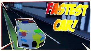 I FOUND THE NEW FASTEST CAR IN ROBLOX JAILBREAK!!! Spoiler Update