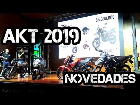 Novedades AKT 2019 Nuevas MOTOS COLOMBIA - Feria 2 ruedas 2018