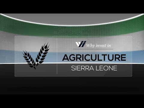 Agriculture  Sierra Leone - Why invest in 2015