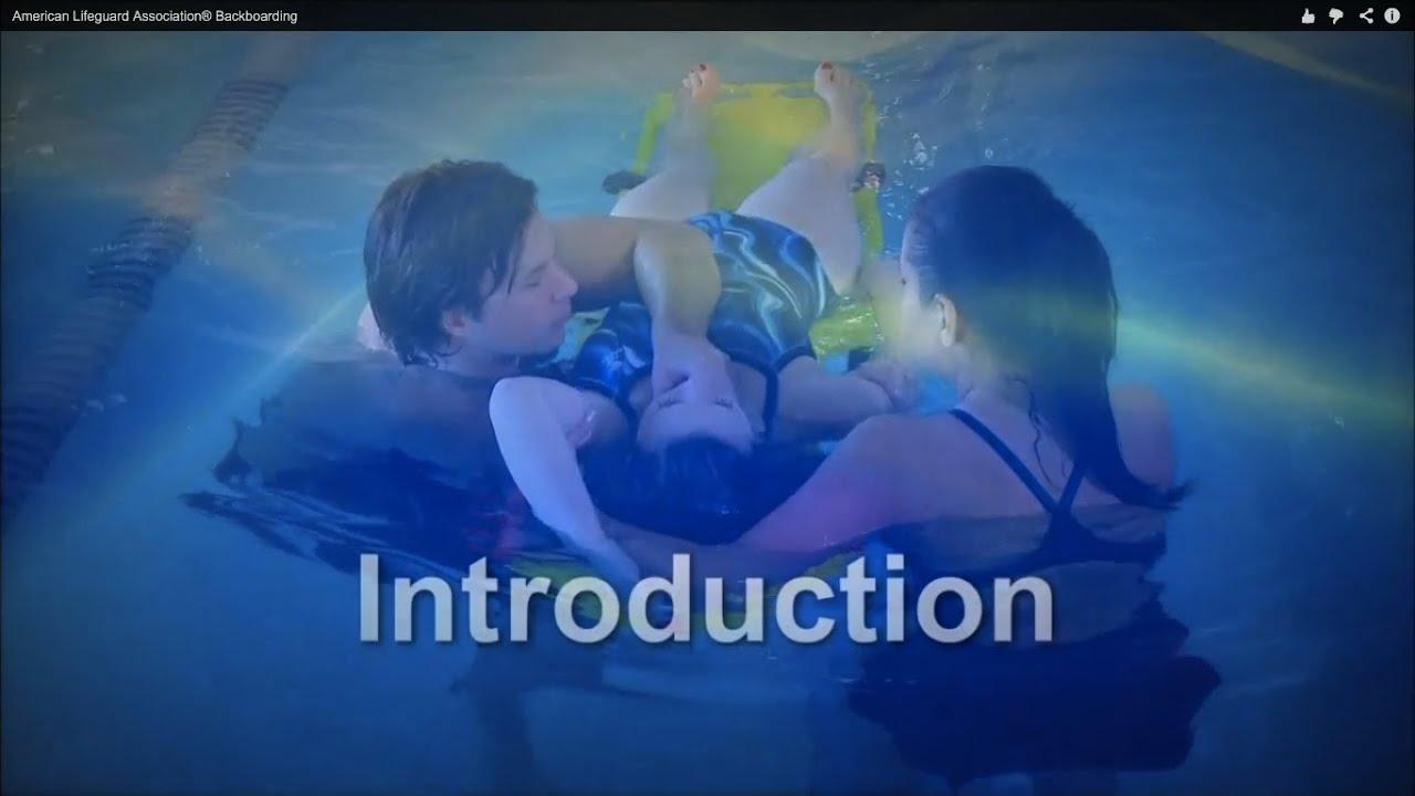 c7dc415eb41 Lifeguard Backboarding by American Lifeguard Association® - YouTube