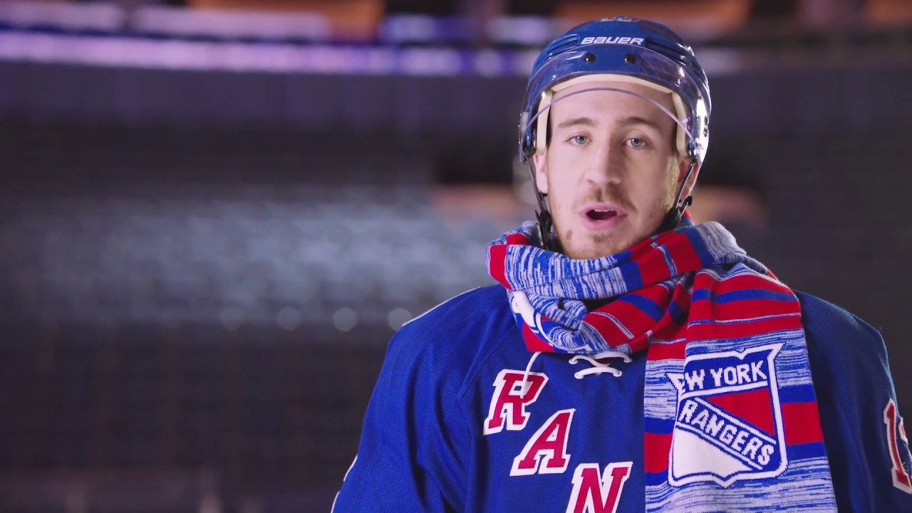 new products 1c179 84028 Chilly with The New York Rangers' Kevin Hayes