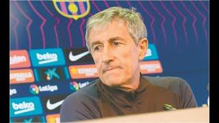 El Barcelona de Quique Setién se mide mañana al Bayern Munich por un pase a las semifinales en la Champions League