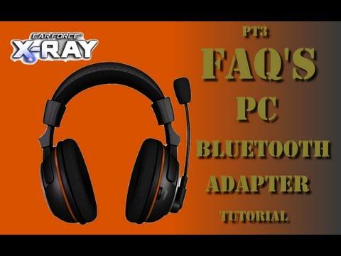 Black Ops 2 Turtle Beach X-Ray Pt3: FAQ's - Pc/Bluetooth/adapter Tutorial