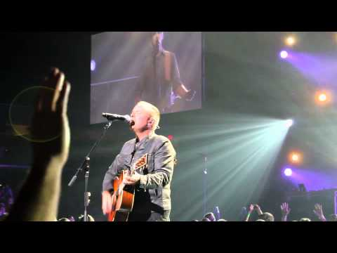 I will rise, Live, Chris Tomlin, near the front row.  Cleveland, Ohio 10/16/2013