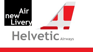 Helvetic Airways new livery Airbus 320 HD FS2004