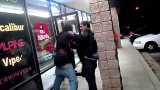 nawfside atl trap fight p 2 texaco shawty