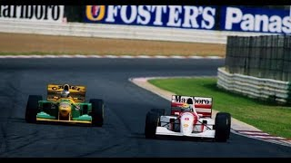 Ayrton Senna vs Michael Schumacher South Africa 1993