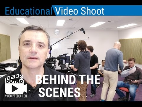 Behind the Scenes - Video Production, First Aid Training