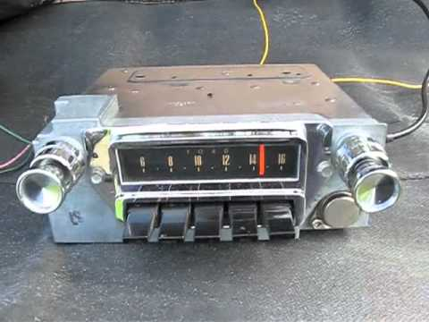Original 1965 Ford Mustang Radio - Falcon & Comet