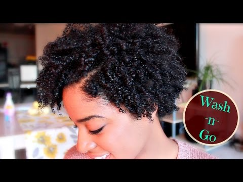 "Easy ""Wash n Go"" for Short Natural Hair 