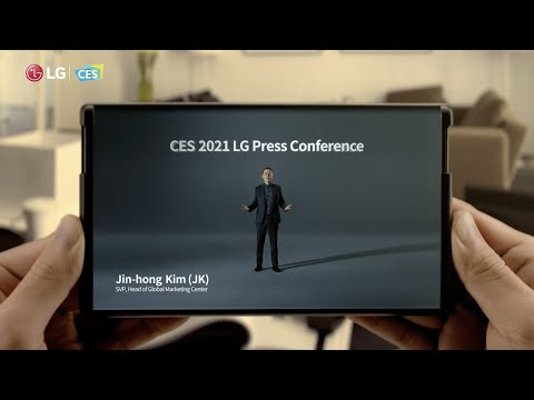 LG Rollable Display Phone & LG thinQ First Look