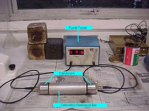 Evaluation of Cracks in Concrete by Ultrasonic Pulse Velocity