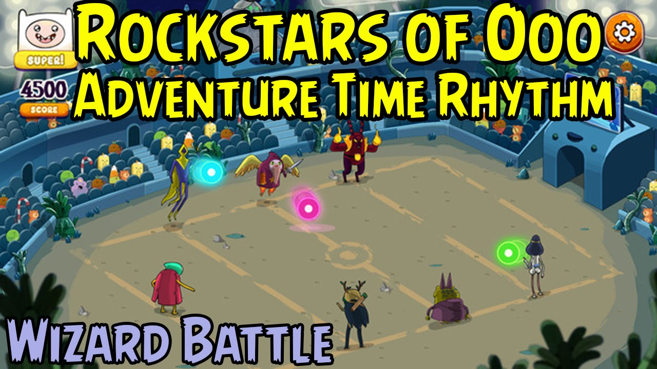 how to beat adventure time game wizard