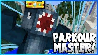 PARKOUR MASTER! - Death Run Mini Game!