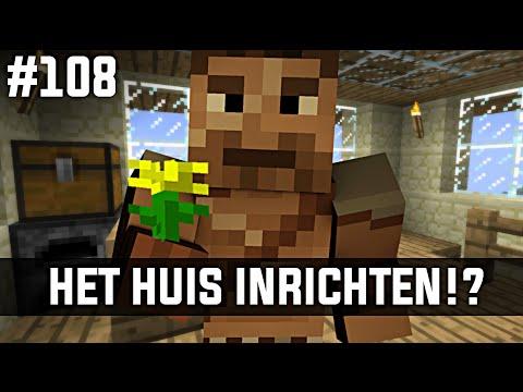 Minecraft survival 108 het huis inrichten youtube for Huis in richten