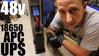 Diy Tesla Powerwall ep45 Looking at a 48v APC UPS for an Inverter