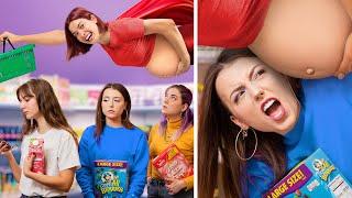 Pregnant Superhero / 13 Funny Pregnancy Situations!