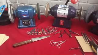 Проверка качества заточки маникюрного инструмента